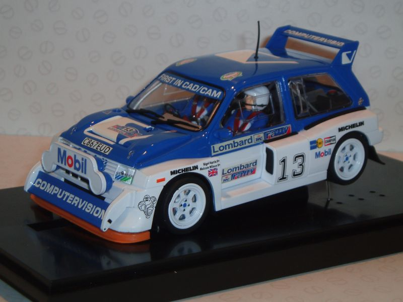 6017 MSC Competition - MG Metro 6R4 Computervision - RAC Rally ...