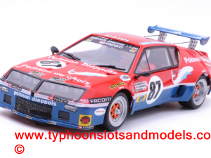 Team Slot 65010 Half Rally Driver x 2 Unpainted 1:32 Scale