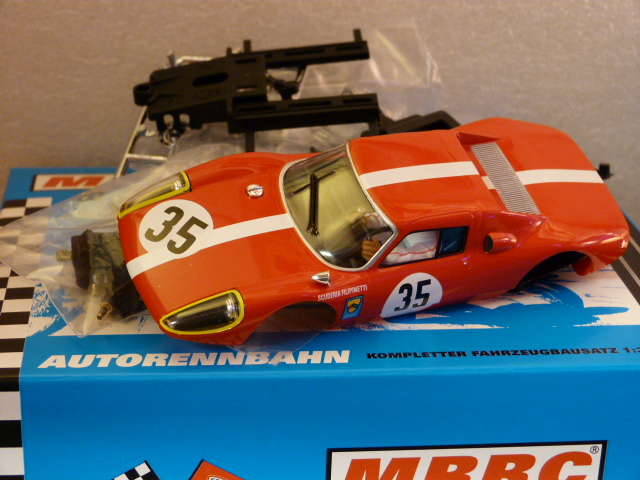 3611 MRRC Porsche 904 GTS - No 35 - Red - Complete Painted Kit - New &  Boxed - MRRC 3611
