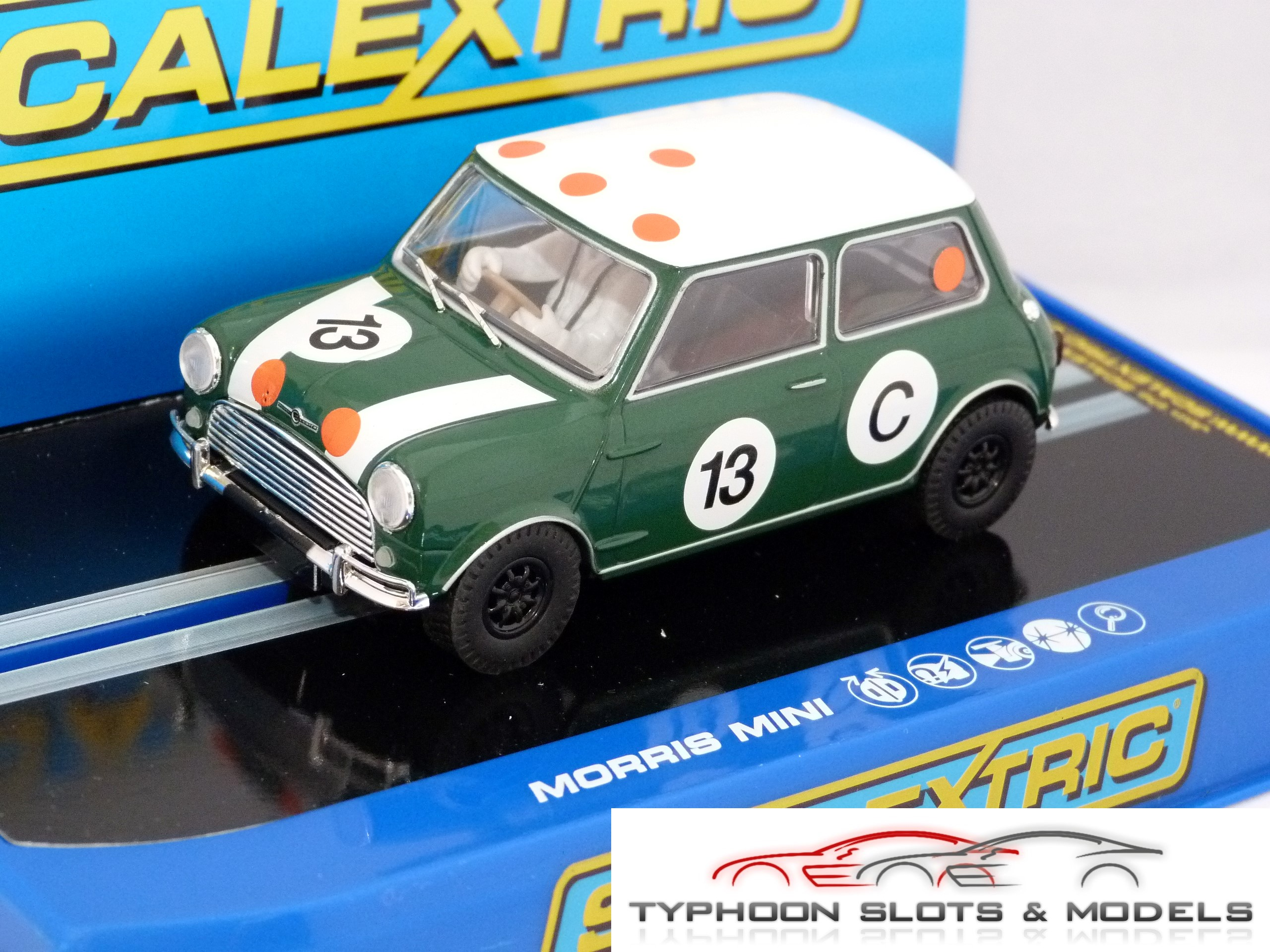 Scalextric Morris Mini Cooper Bob Holden C3302 New Boxed